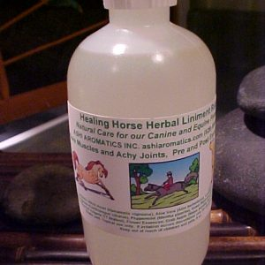 Animal Aromatherapy product image Herbal Liniment Rub Equine horse